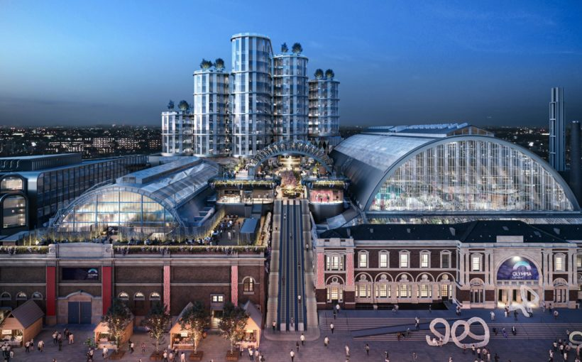 First Tenants Confirmed at Transformed Olympia London