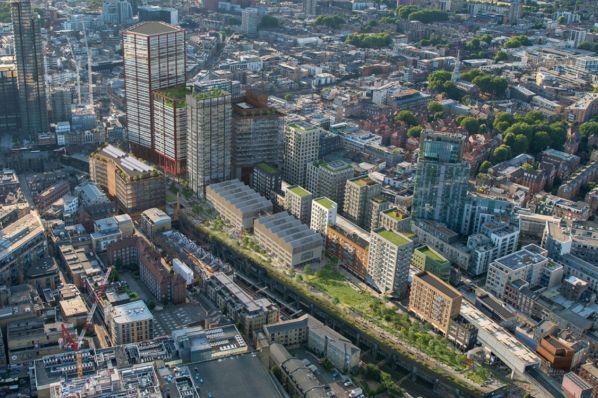 Mayor of London approves Bishopsgate Goodsyard regeneration (GB)