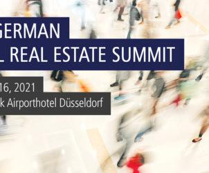 13th German Retail Real Estate Summit /// April 15 – 16, 2021 /// Van der Valk Airporthotel Düsseldorf, Germany