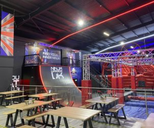 Ninja Warrior Signs Lease at The Broadway