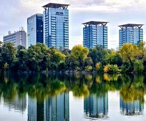 One Tower office building, owned by One United Properties in Bucharest, can be visualized and leased digitally, through Bright Spaces