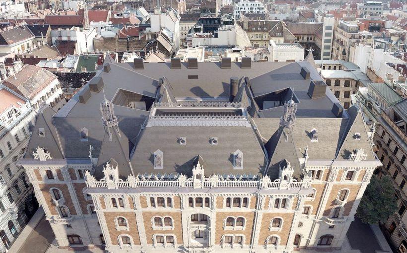 HUNGARY W Budapest hotel starts to take shape