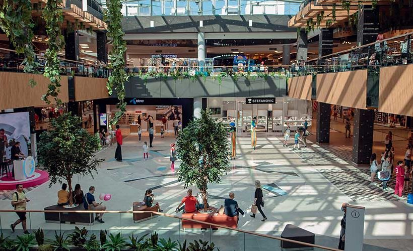 BEO Shopping Center: From a Ruined Factory to 2 International Awards for Design and Architecture