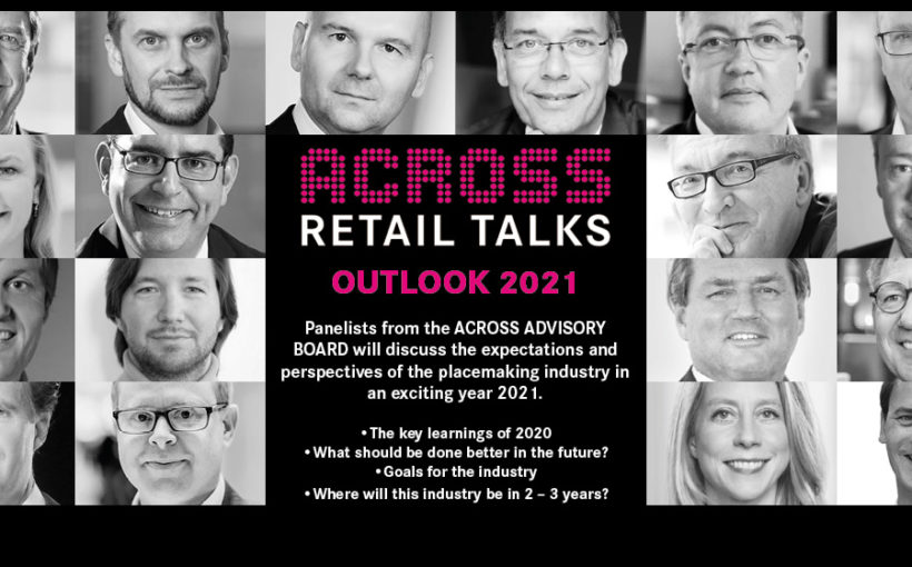 """ACROSS Retail Talks online, on the topic """"Outlook 2021"""""""
