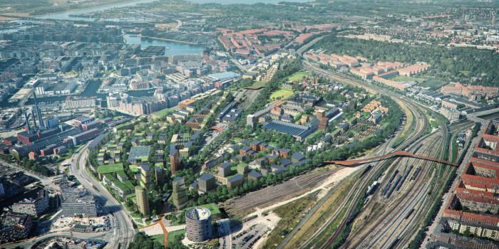Team Cobe to Design Copenhagen's New Green City District