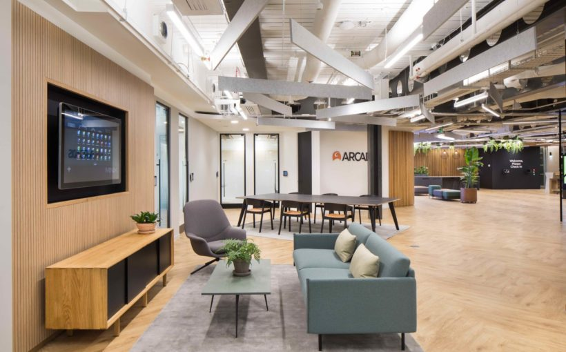 Refurb Complete on New 41,000 SQ FT City of London Office