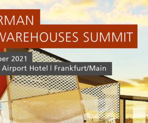 12th German Retail Warehouse Summit /// September 7 – 8, 2021 /// Steigenberger Airport Hotel Frankfurt/Main, Germany