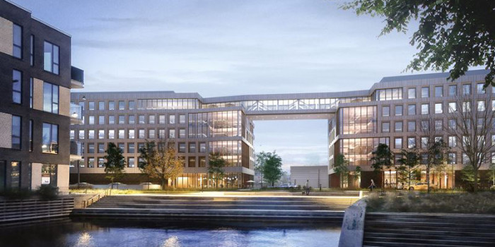 NCC to Construct New Office Building for Pension Danmark in Copenhagen