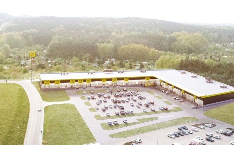 Poland Mirbud builds Stop Shop in Zielona Góra