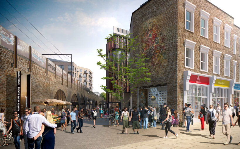 LabTech Ramps Up Hawley Wharf Camden Lettings