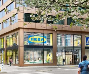 IKEA opens a large city department store in Gallerian, Stockholm