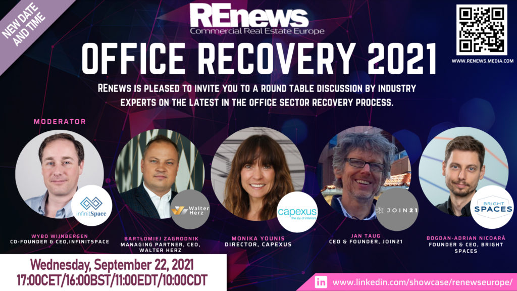Office recovery 2021 - REnews event