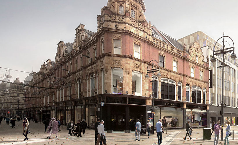 Orchard Street receives planning approval to transform former Debenhams store into student-led mixed-use scheme
