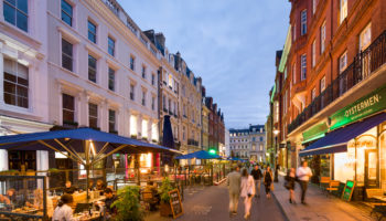 Covent Garden Announces Extension Of Al Fresco Dining Scheme