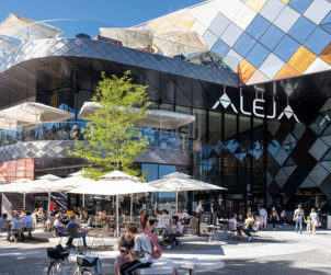 ATP wins the ICONIC AWARD for innovative architecture for the shopping center ALEJA