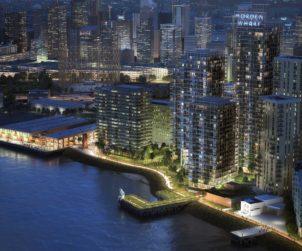 U+I Secures Planning for Morden Wharf Scheme